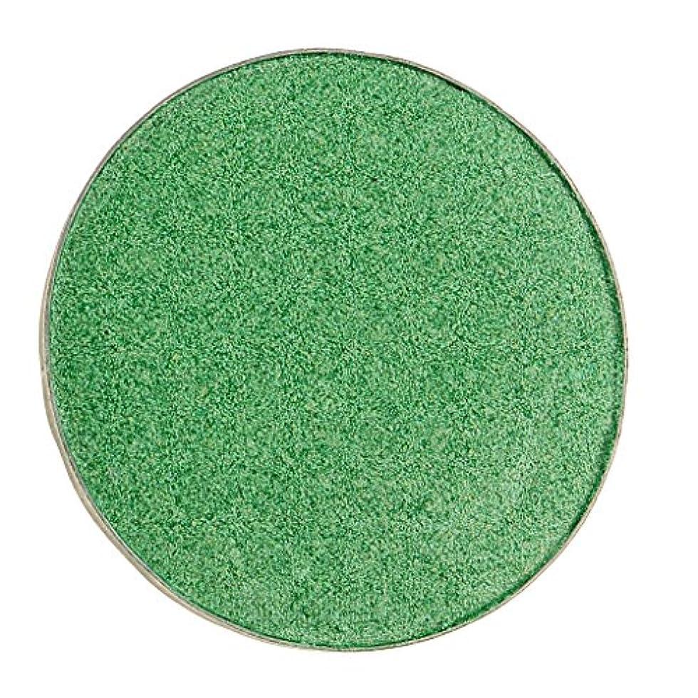 無法者前件形式Baosity 化粧品用 アイシャドウ ハイライター パレット マット シマー アイシャドーメイク 目 魅力的 全5色 - #38グリーン