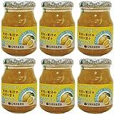信州須藤農園 砂糖不使用 100%フルーツ 瀬戸内レモンジャム 185g×6個