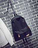 (モコベビー) MOKO BABY 【 シンプル ワンポイント ロゴ 8色から選べる バックパック 】 ベーシック おしゃれ キャンバス 大容量 A4サイズ PC 収納可 男女兼用 マザーズバッグにも MOKO BABYオリジナルチャーム セット商品