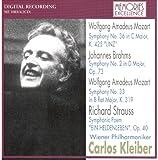 モーツァルト:交響曲第33番、第36番、ブラームス:第2番、R.シュトラウス:英雄の生涯
