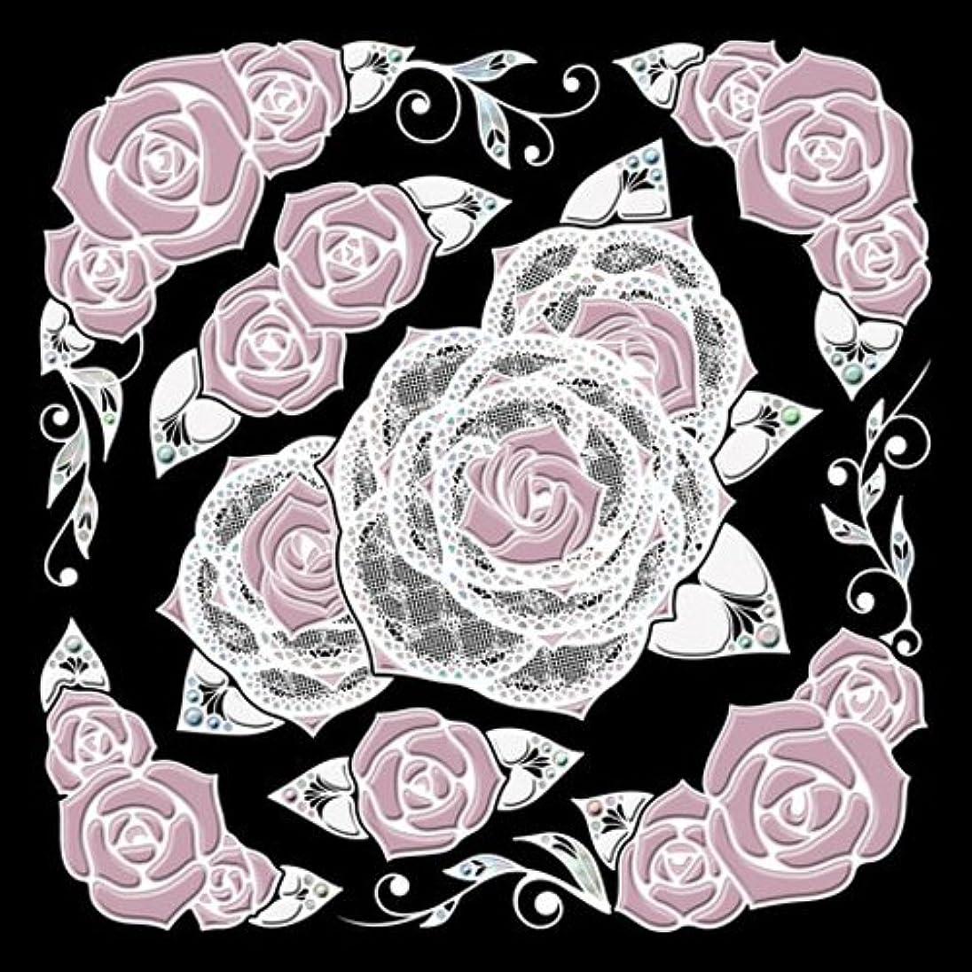 空気着飾るビクター彩蒔絵本舗Gothic&Lace premium decoration stickerGLバラホワイト