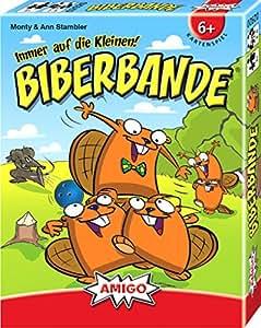 Biberbande: Immer auf die Kleinen! Für 2-6 Spieler. Spieldauer: 20 min