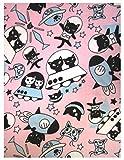 GV 猫グッズ ひざ掛け ポキートユニバース マイクロファイバー ピンク 70×100cm