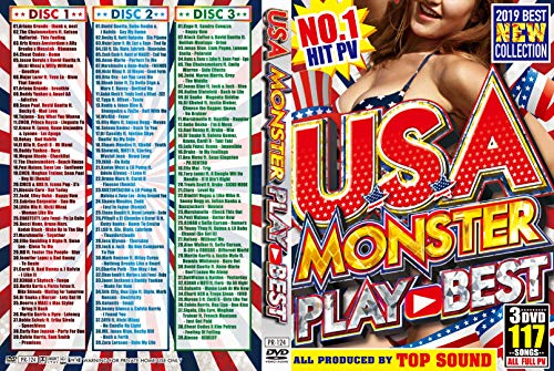 [画像:U.S.A MONSTER PLAY BEST [DVD]]