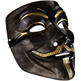 IDOXE Lot V for Vendetta Mask White Guy Fawkes Anonymous Party Masker Dress Cosplay