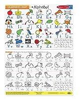 Melissa & Doug Alphabet Write-A-Mat Puzzle [並行輸入品]