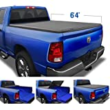 Tyger Auto TG-BC3D1011 Tri-Fold Tonneau Bed Cover Fits 2002-2017 Dodge Ram 1500; 2003-2017 Dodge Ram 2500 3500 (for Fleetside