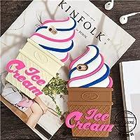 iphone6ケース iphoneケース iphone ケース シリコン アイスクリーム ソフトクリーム アイス スイーツ デザート