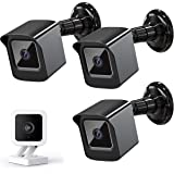 PEF Mount for All-New Wyze Cam V3 ONLY, Weatherproof Protective Cover and 360 Degree Adjustable Wall Mount Solid Housing for