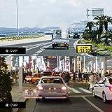 ドライブレコーダー ミラー型 デジタルインナーミラー 前後カメラ同時録画対応 9.88インチタッチパネル 1296PフルHD ミラー型 スマートミラーモニター 車線逸脱警報 GPS速度測定 駐車監視 防水構造 日本語説明書付き AUTO-VOX