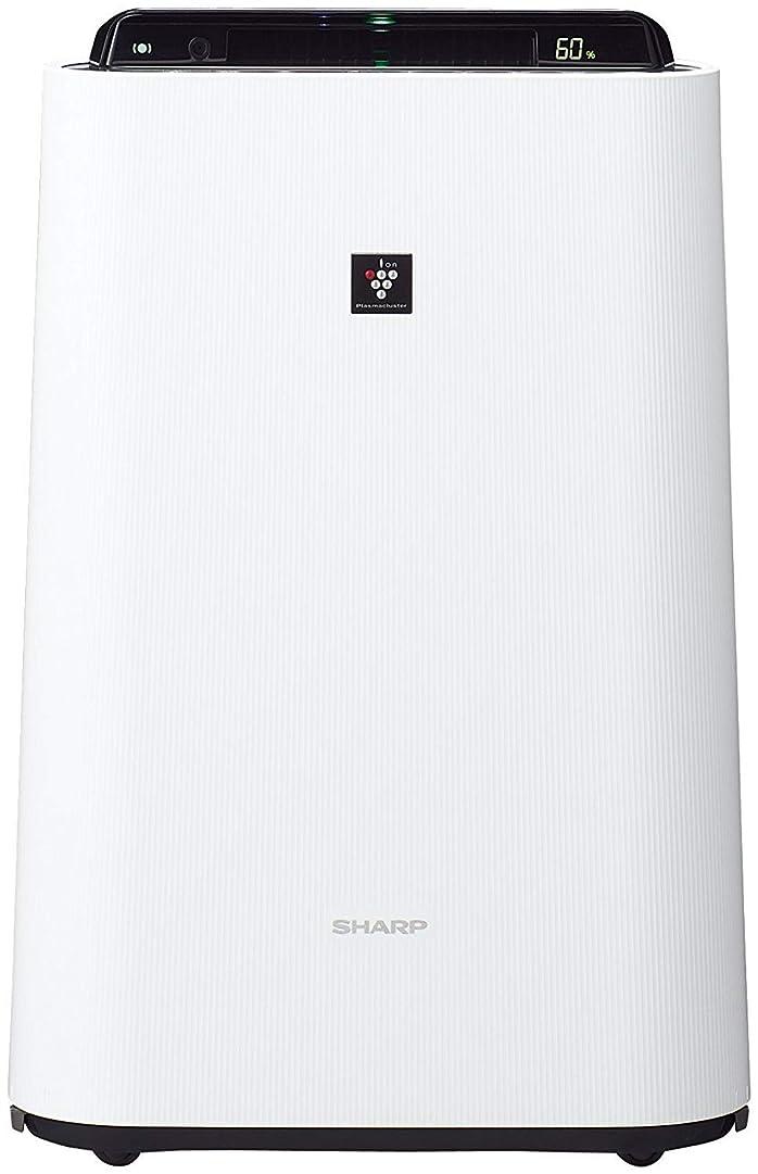 テンポエンゲージメント含むシャープ 加湿 空気清浄機 プラズマクラスター 7000 スタンダード 13畳 / 空気清浄 23畳 2017年モデル ホワイト KC-H50-W