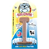 Bullibone Dog Chew Toys: Durable Dog Toys for Small Dogs and Aggressive Chewers. Long Lasting Peanut Butter Flavored Dog Chew