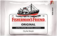 Fisherman's Friend Original Extra Strong Menthol Lozenges, 25 g