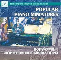 Popular Piano Miniatures