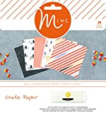 Heidi Swapp Crate Paper 24 Sheet After Dark Minc Foil-Ready Paper Pad, 15cm x 15cm