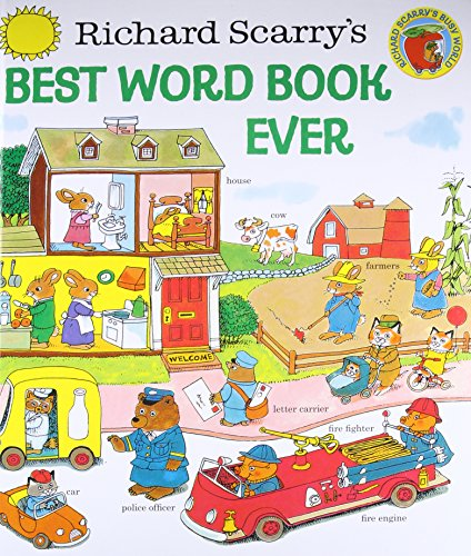 Richard Scarry's Best Word Book Ever (Giant Little Golden Book)の詳細を見る