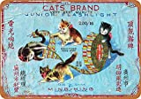 LEO LEO STORE 8 x 12 METAL SIGN - Cats Brand Firecrackers Pub Home Decor Metal Tin Sign