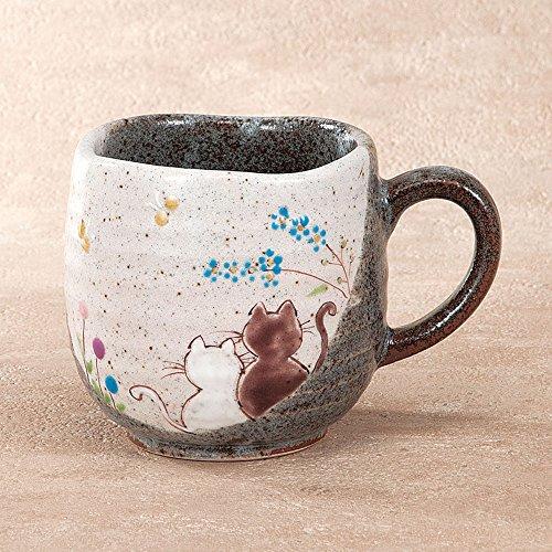 九谷焼 陶器 マグカップ 陽だまり