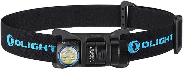 Olight H1R NOVA 小型軽量 多機能充電式LEDヘッドライト 最大600ルーメンCree XM-L2 LED搭載LED フラッシュライト 5段階切替 LEDライト IPX8 防水2M LED懐中電灯 ハンディライト電池1 x RCR123A 電池650mAh RCR123A付き/ ヘッドランプ付き / ポケットクリップ付き / マグネット式充電ケーブル付き