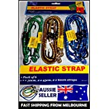 6 X Piece Bungee Cord Set Octopus Occy Strap Elastic Tie Down Assorted Sizes