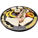 サムギョプサル 焼肉 丸型プレート 鉄板 サンギョッサル 直火式 グリルパン