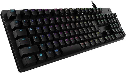 Logicool G ゲーミングキーボード G512-TC ブラック メカニカルキーボード タクタイル 日本語配列 LIGHTSYNC RGB 静音 G512 Carbon 国内正規品 2年間メーカー保証