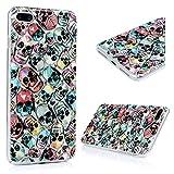 Amazon.co.jpiPhone7 Plus 5.5インチ ケース スマホケース Lanveni ハードケース ポリカーボネート ペインティング 防塵 キズ防ぎ 保護 たくさん髑髏 個性 人気