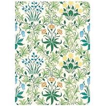 William Morris Celandine Handmade Embroidered Journal