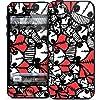 GELASKINS Apple iPhone5 スキンシール 【Heart Skulls】 5GP-468