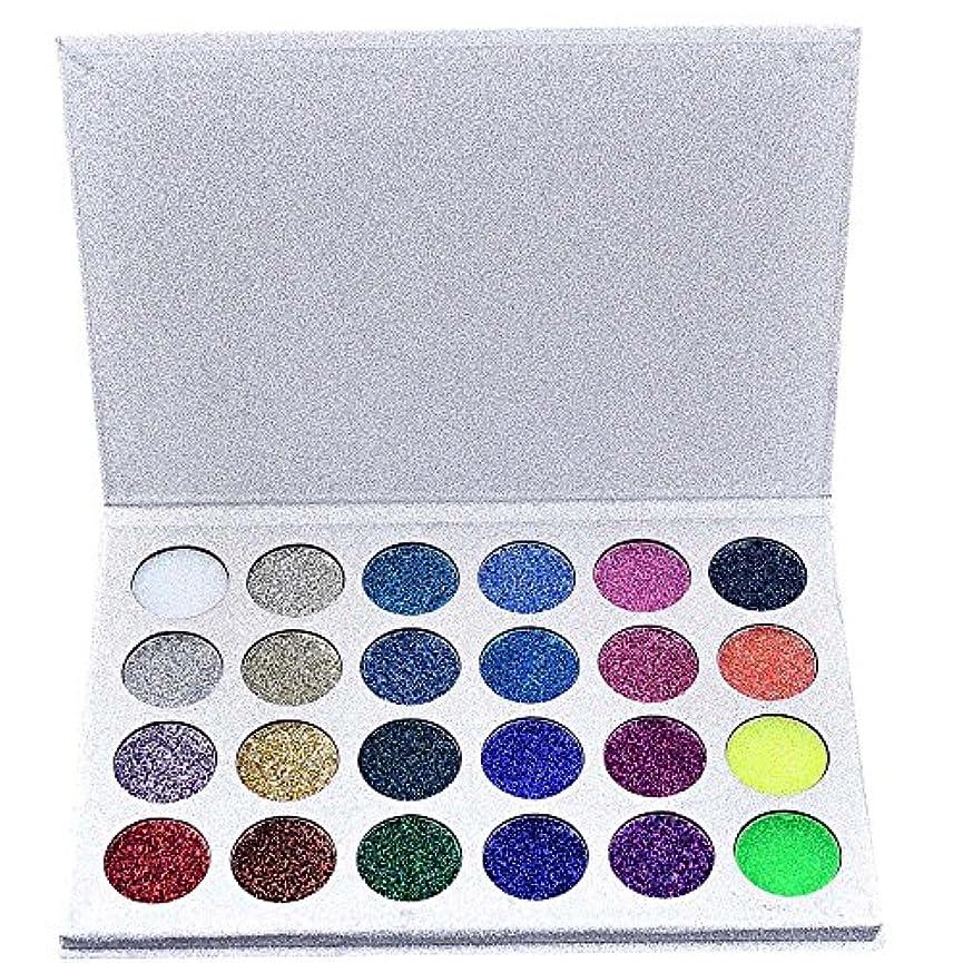 スイングコメンテーター段落24色化粧品パウダーアイシャドーパレットメイクナチュラルシマーマットセット