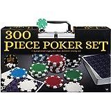 Cardinal ASM6044453 Professional 300-Piece Poker Set in Aluminum Carry Case