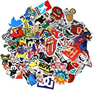 Sticker Set 100 Pieces, NEULEBEN, Decal Stickers, Laptop, Kids, Cars, Motorcycle, Bicycle, Skateboard, Luggage