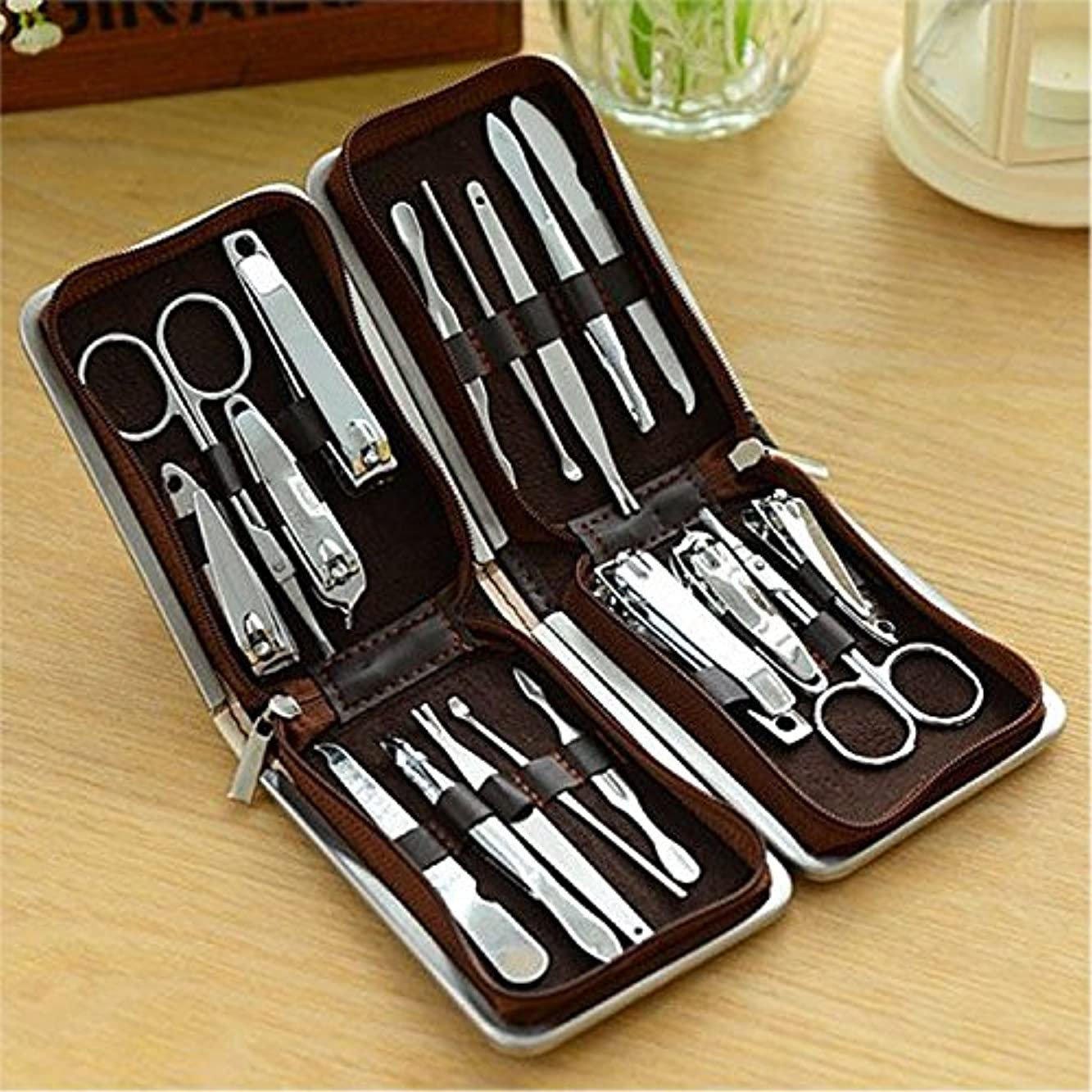 胴体立派な正確9ピース爪切りセット爪切り装飾セット爪切りセット爪切り本物のステンレス鋼卸売