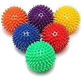 JIANGREN リハビリ マッサージ用 触覚ボール リフレクションボール リフレックスボール 筋肉緊張和らげ 血液循環…