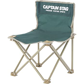 キャプテンスタッグ(CAPTAIN STAG) チェア CS コンパクト チェア ミニ グリーン M-3875