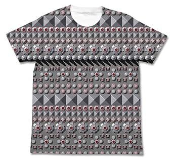 ゼビウス ゼビウス地上物フルグラフィックTシャツ ホワイト Mサイズ