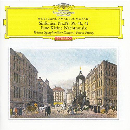 モーツァルト:交響曲第29番, 第39番, 第40番, 第41番, 他