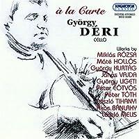 Hungarian Contemp Works for Cello: A La Carte