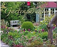 Gartenparadiese 2019: Grossformat-Kalender