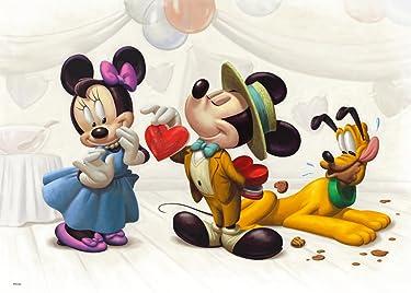 ディズニー  iPhone/Androidスマホ壁紙(freeサイズ)-1 - ミッキーより愛をこめて・・・
