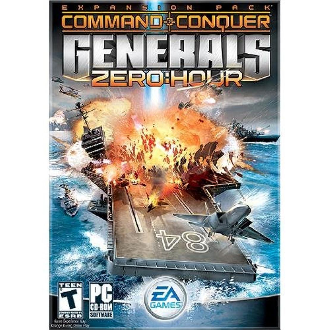 リズムとして怒ってCommand & Conquer Generals: Zero Hour (輸入版)