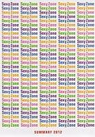 パンフレット Sexy Zone 2012 「Johnny's Dome Theatre 〜SUMMARY〜」