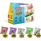 12 Use Mega Baff Pack from Zimpli Kids, 4 x Gelli Baff, 2 x Slime Baff & 6 x Crackle Baff, Children's Sensory & Bath Toy Set,