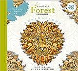 森の生き物のぬり絵図鑑: 大人の精密ぬり絵 Forest COLORING BOOK (マルチメディア)