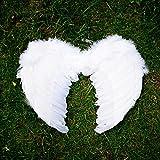 ホワイト 天使の羽 天使の翼 コスプレ小物 趣味 の コスプレ コスチューム 仮装 衣装 小物 Cosplay小道具 舞台 コスプレ用 白 45x35cm