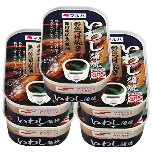 マルハ 秘伝いわし蒲焼 5缶