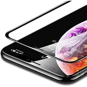 ESR iPhone XS MAX 液晶保護フィルム [3D全面フルカバー] [ 最大限保護] プレミアム強化ガラスフィルム 対応機種:iPhone Xs Max 6.5インチ(2018年発売)ブラック