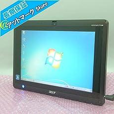 ★中古タブレット型パソコン 即使用可能!★ ★Windows 7 Home Prem 32bit搭載★ Acer ICONIA TAB W500 /AMD C-60 1.00GHz/メモリー 2GB/SSD 32GB/10.1インチワイド液晶(1280x800)/無線LAN(Wi-Fi)内蔵/webカメラ搭載/Kingsoft WPS Office 2016搭載