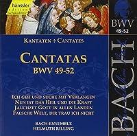 Bach: Cantatas, BWV 49-52 (Edition Bachakademie Vol 17) /Rilling by Johann Sebastian Bach (1999-06-09)