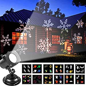 Amazon actopp led for Projecteur noel exterieur walmart